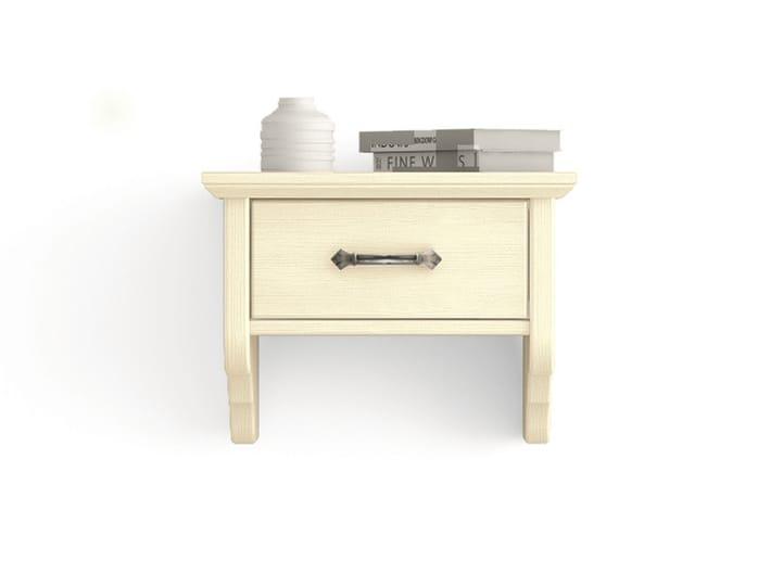 wand nachttisch by scandola mobili. Black Bedroom Furniture Sets. Home Design Ideas