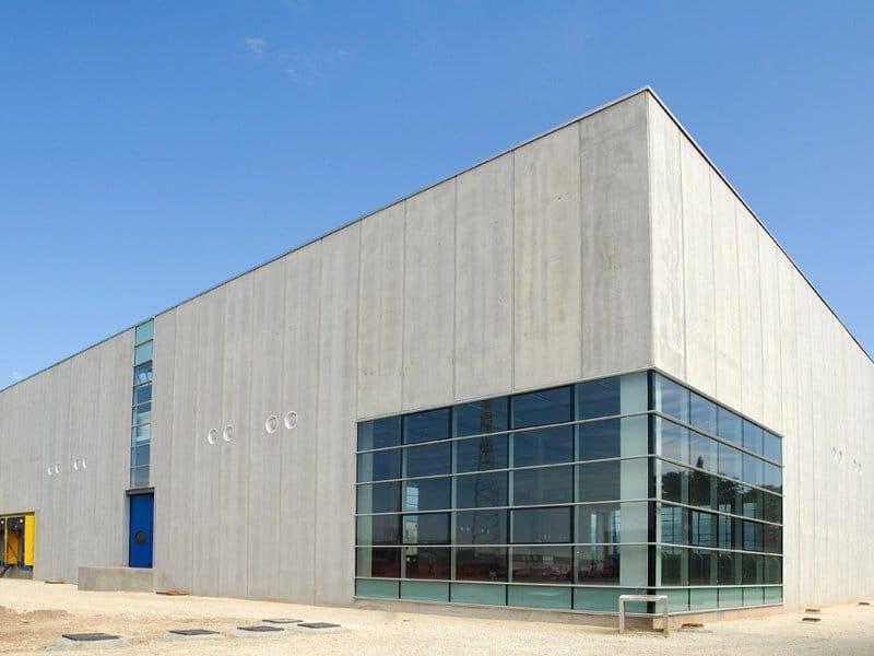 Precast reinforced concrete external wall panel pannelli di tamponamento zanon by zanon for Precast concrete exterior wall panels