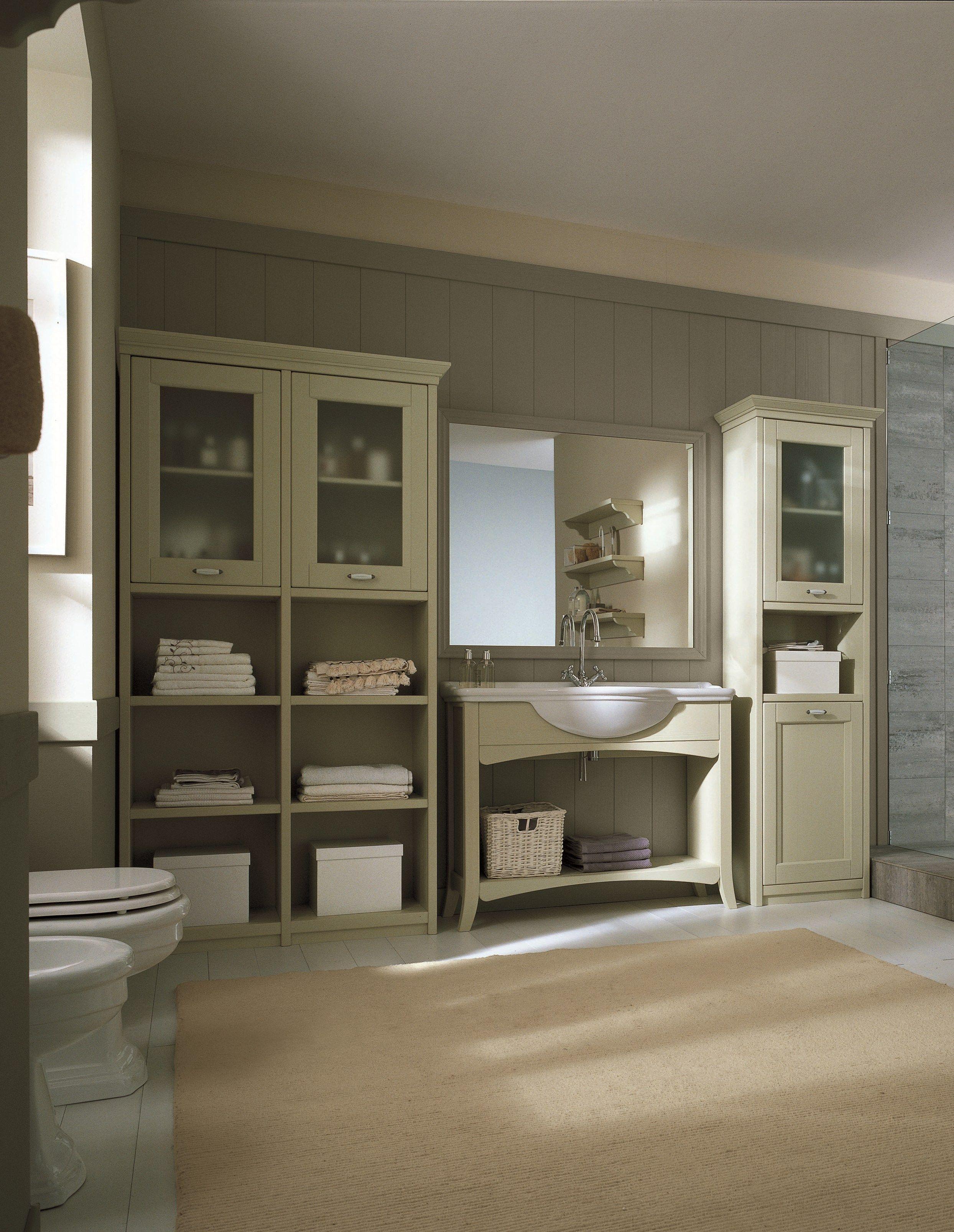 Waschtischunterschrank aus holz by scandola mobili for Waschtischunterschrank holz