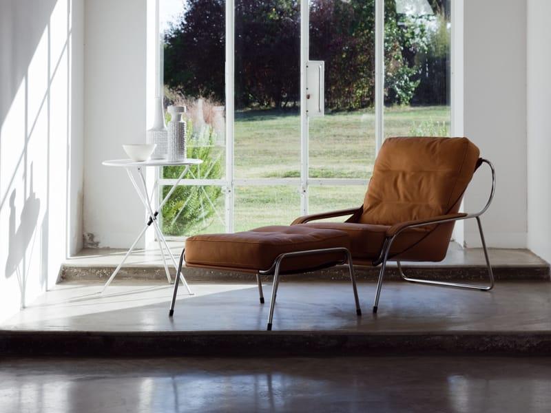 Chaise longue tapizada maggiolina by zanotta dise o - Butaca chaise longue ...
