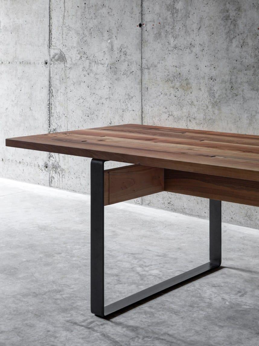 Tavolo da pranzo rettangolare in legno LA PUNT by FIORONI design ...