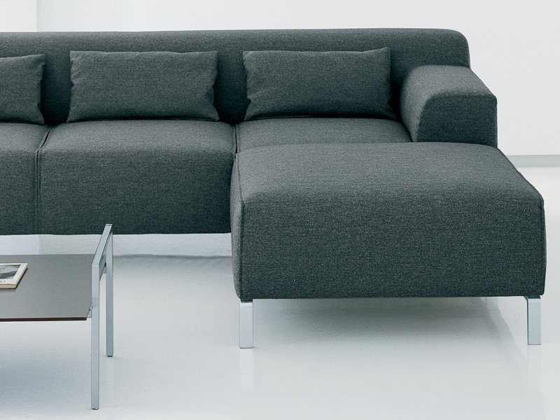 canap rembourr avec rev tement amovible collection greg. Black Bedroom Furniture Sets. Home Design Ideas