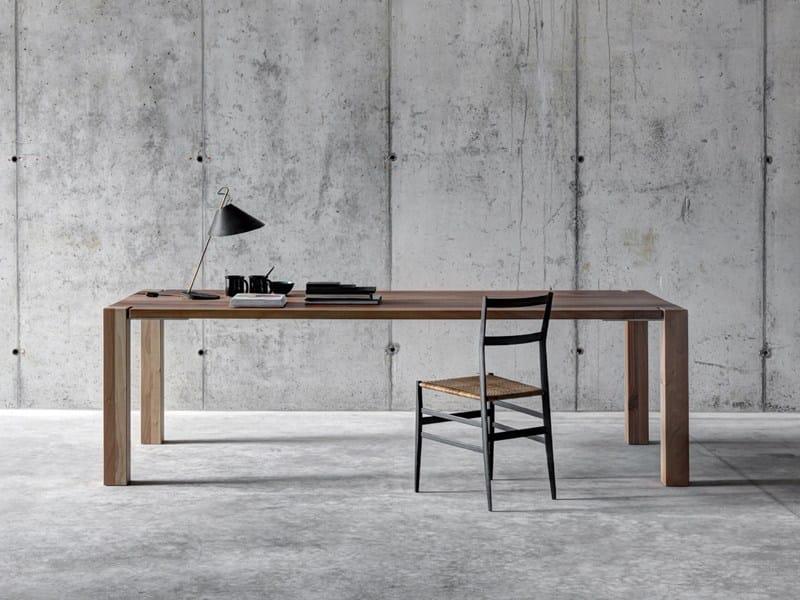 Tavolo alto rettangolare in legno wf1 by fioroni design for Tavolo alto legno ikea