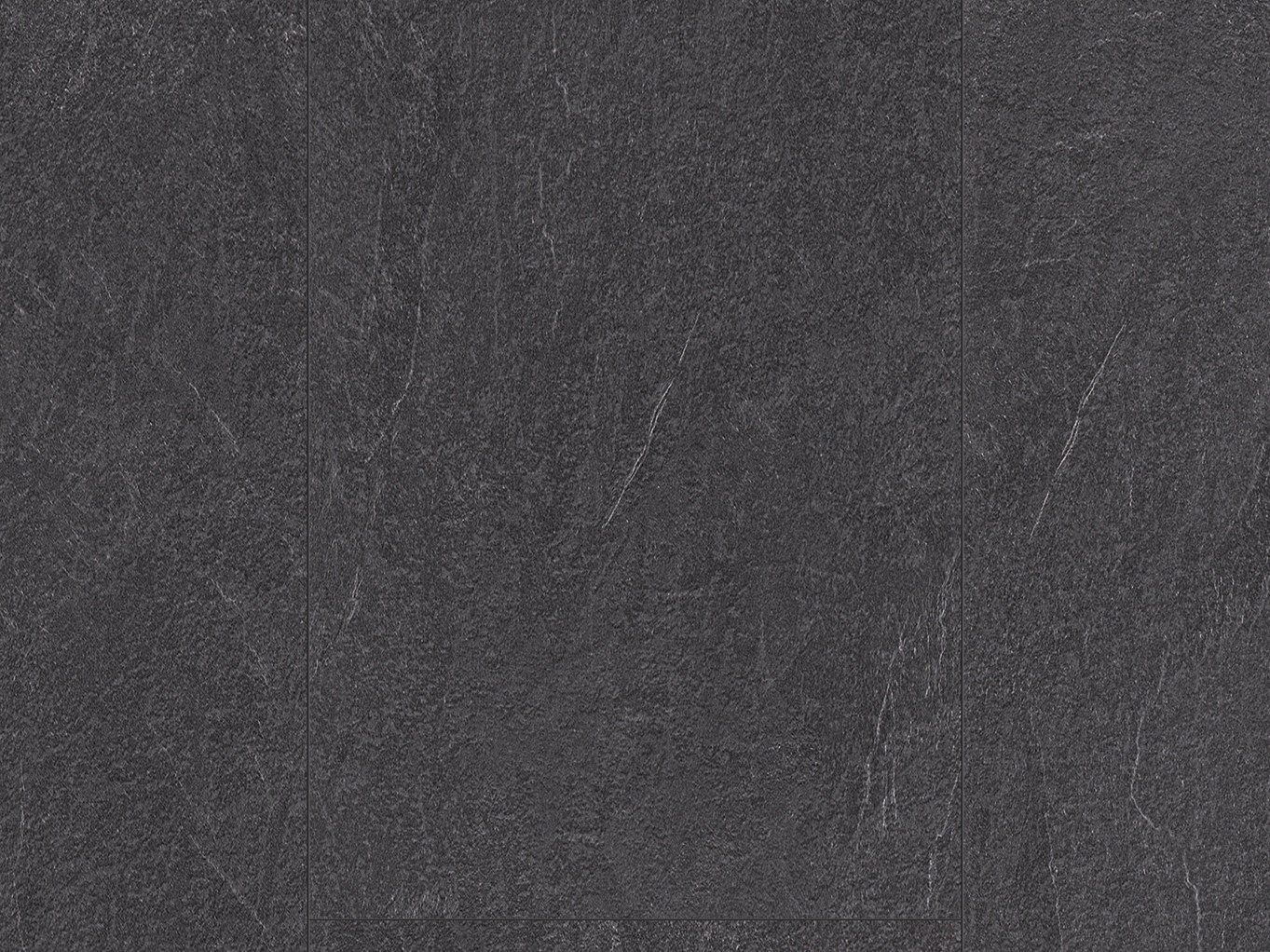 rev tement de sol en stratifi effet pierre ardoise charbon by pergo. Black Bedroom Furniture Sets. Home Design Ideas