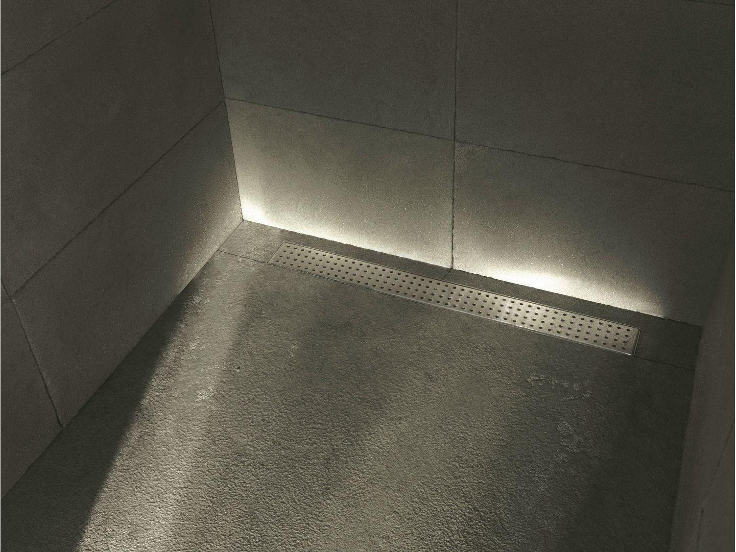 Griglia tondo 770 scarico per doccia in acciaio satinato - Griglie per doccia ...