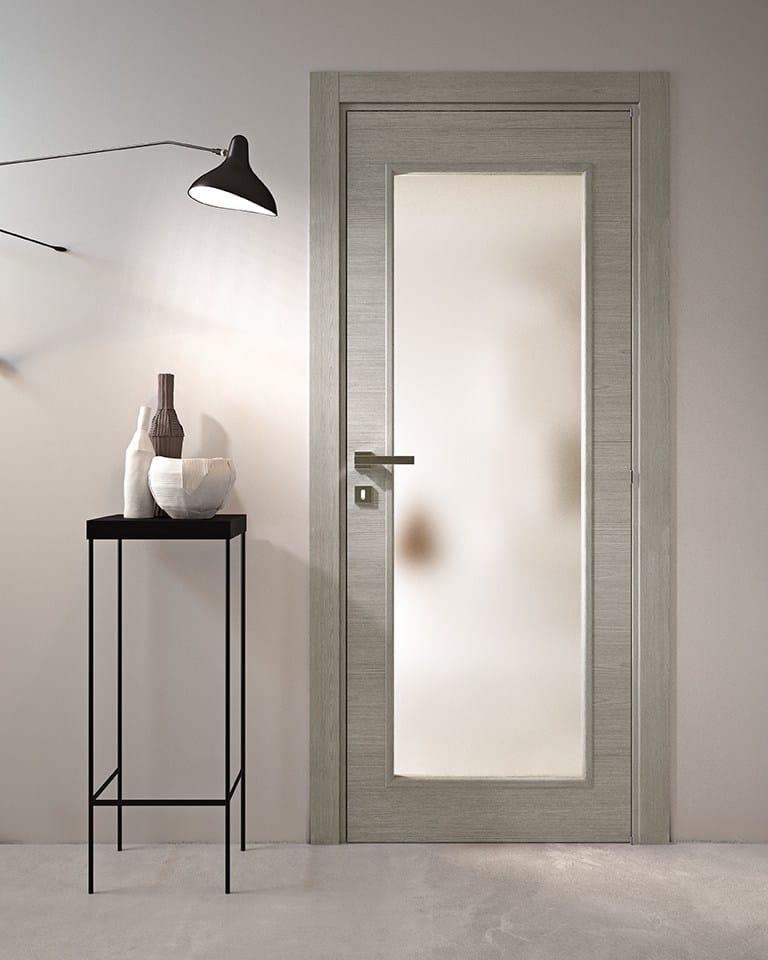 avio | porta in legno e vetro by gidea - Design Della Porta In Legno Moderno Con Vetro