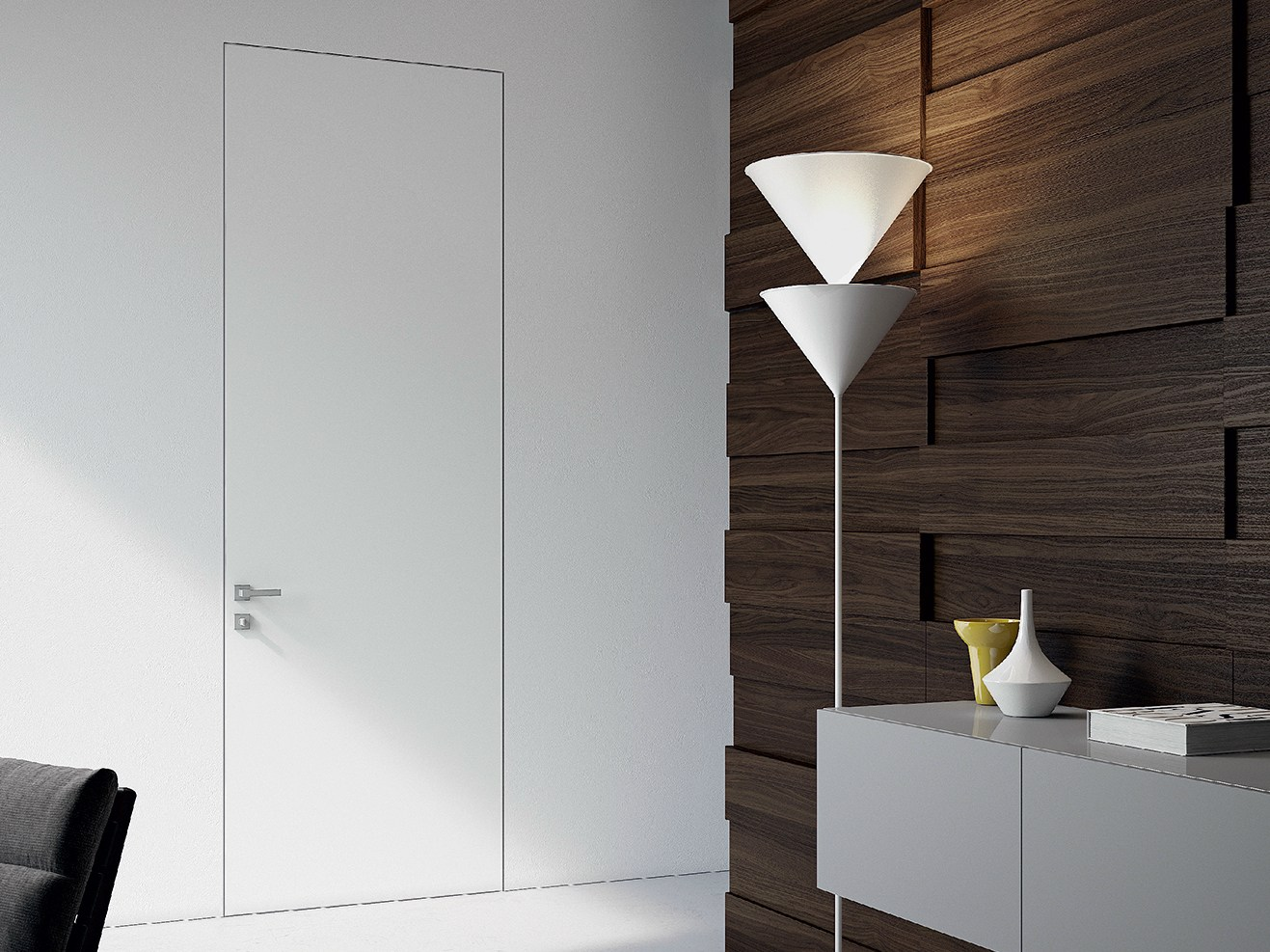 Segno flush fitting door by movi italia - Paredes de pladur ...