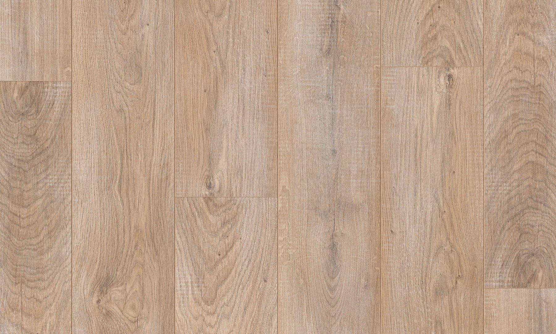 Pavimento in laminato effetto legno ROVERE DORATO SBIANCATO by Pergo