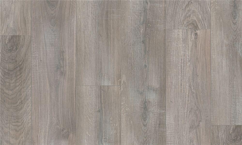 Pavimento in laminato effetto legno ROVERE GRIGIO SBIANCATO by Pergo