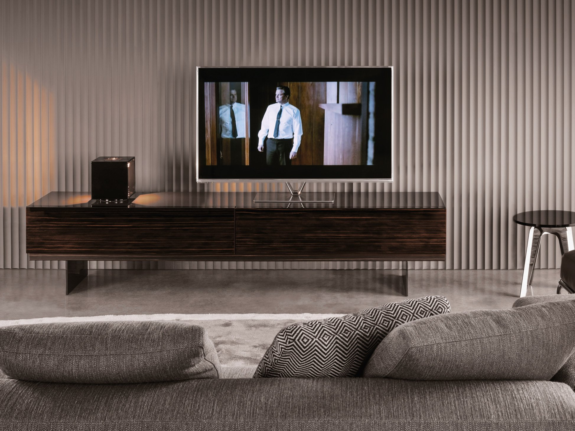 Low lacquered TV cabinet LANG   TV cabinet   Minotti