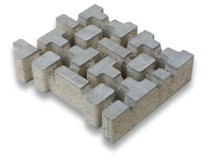 concrete grass mesh rb6 by gruppo industriale tegolaia. Black Bedroom Furniture Sets. Home Design Ideas