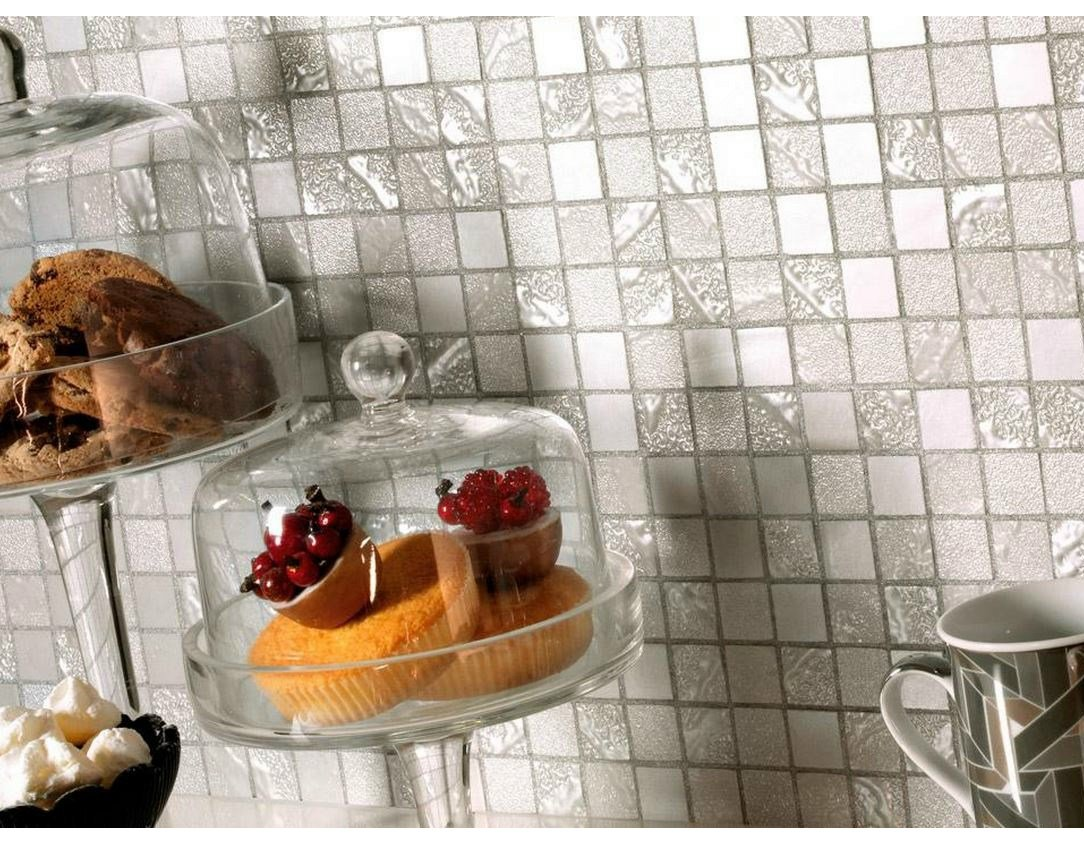 Mosaico in gres porcellanato four seasons by ceramiche - Piastrelle mosaico cucina ...