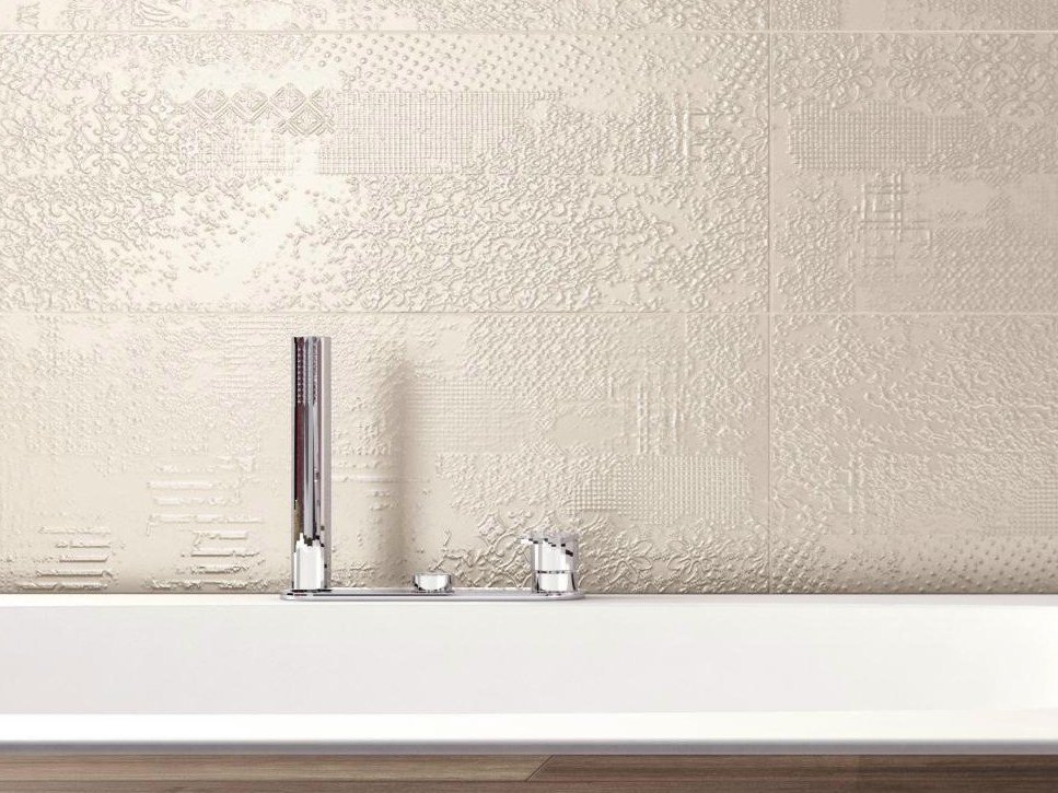 ceramic wall tiles lace by ceramiche supergres. Black Bedroom Furniture Sets. Home Design Ideas