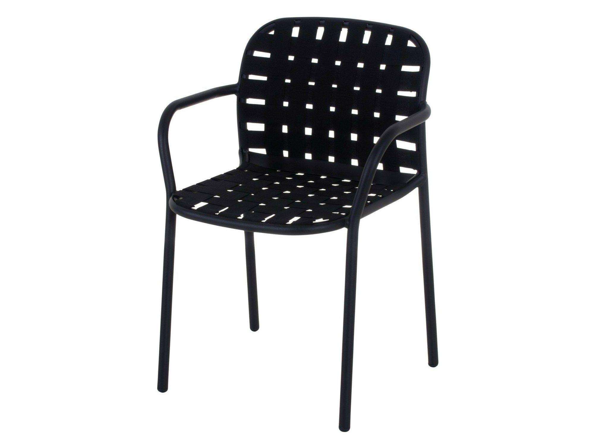 yard chair with armrests by emu group design stefan diez. Black Bedroom Furniture Sets. Home Design Ideas