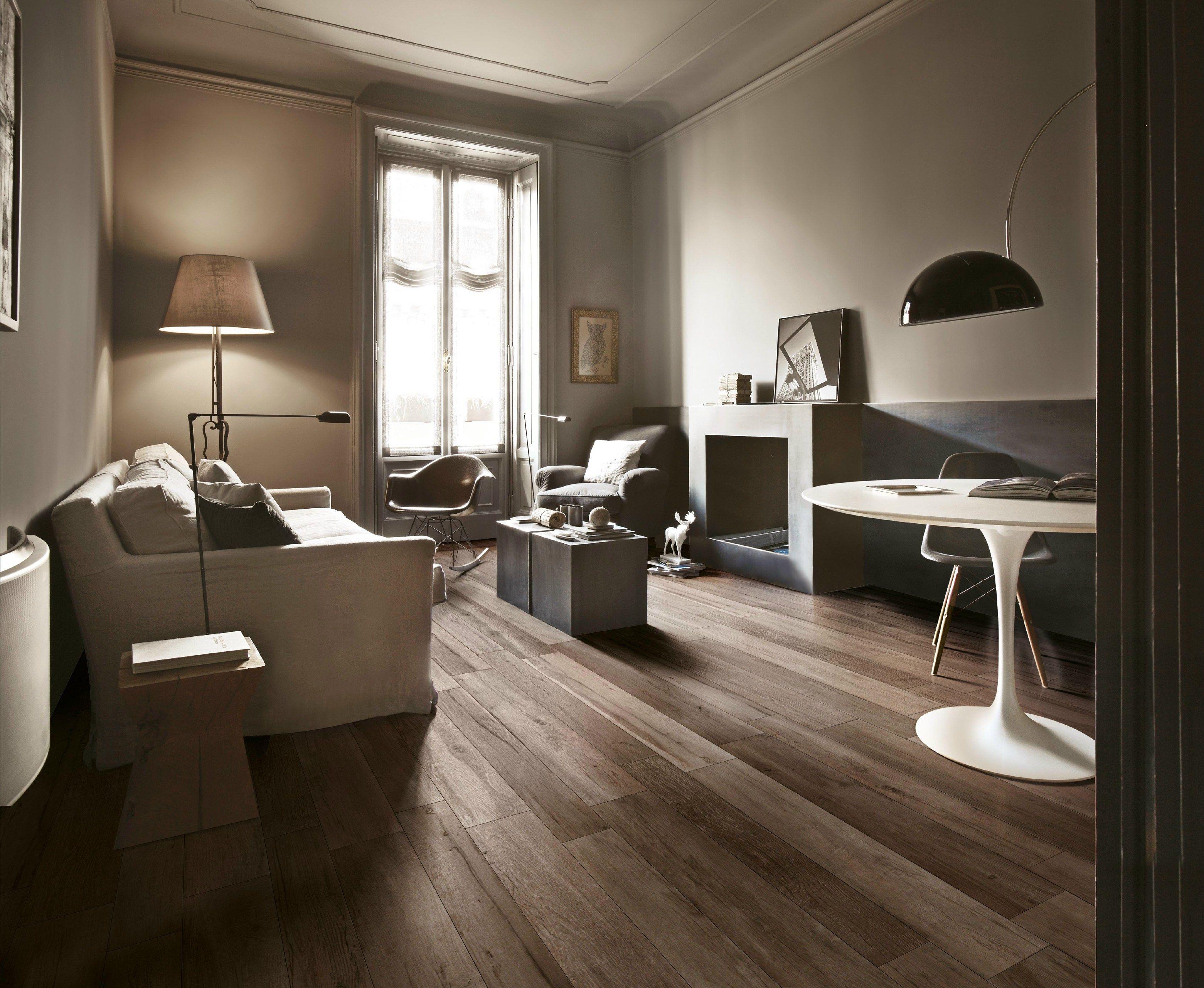 Pavimento in gres porcellanato effetto legno per interni for Pavimenti soggiorno