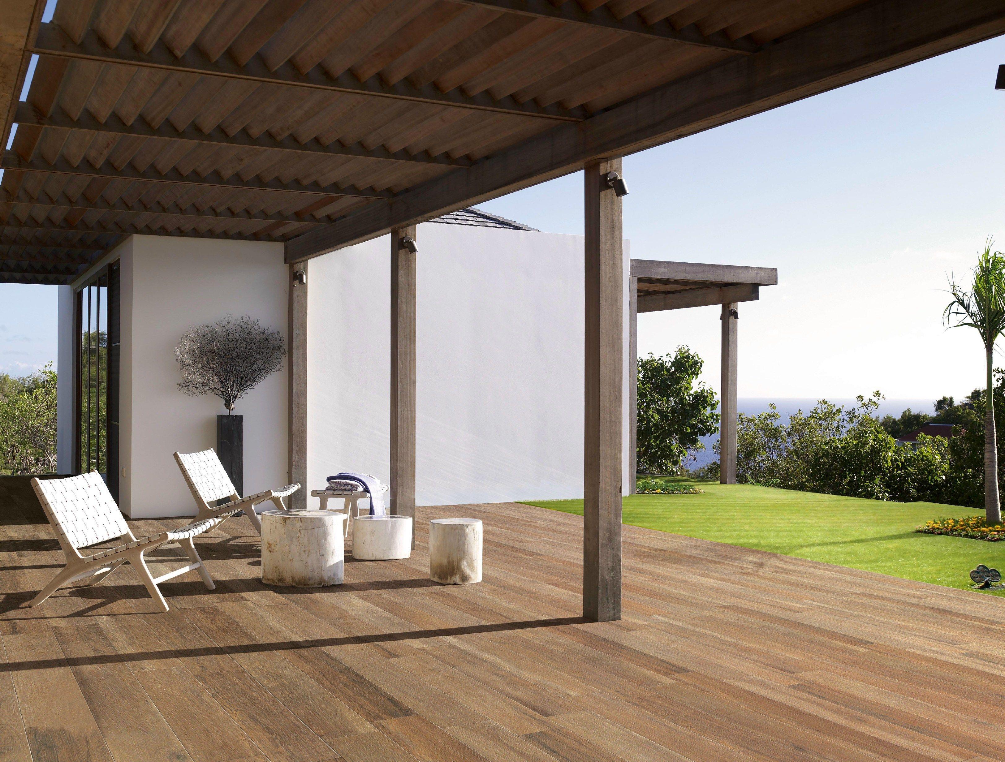 Pavimento in gres porcellanato effetto legno per interni ed esterni TRAVEL by Ceramiche Supergres