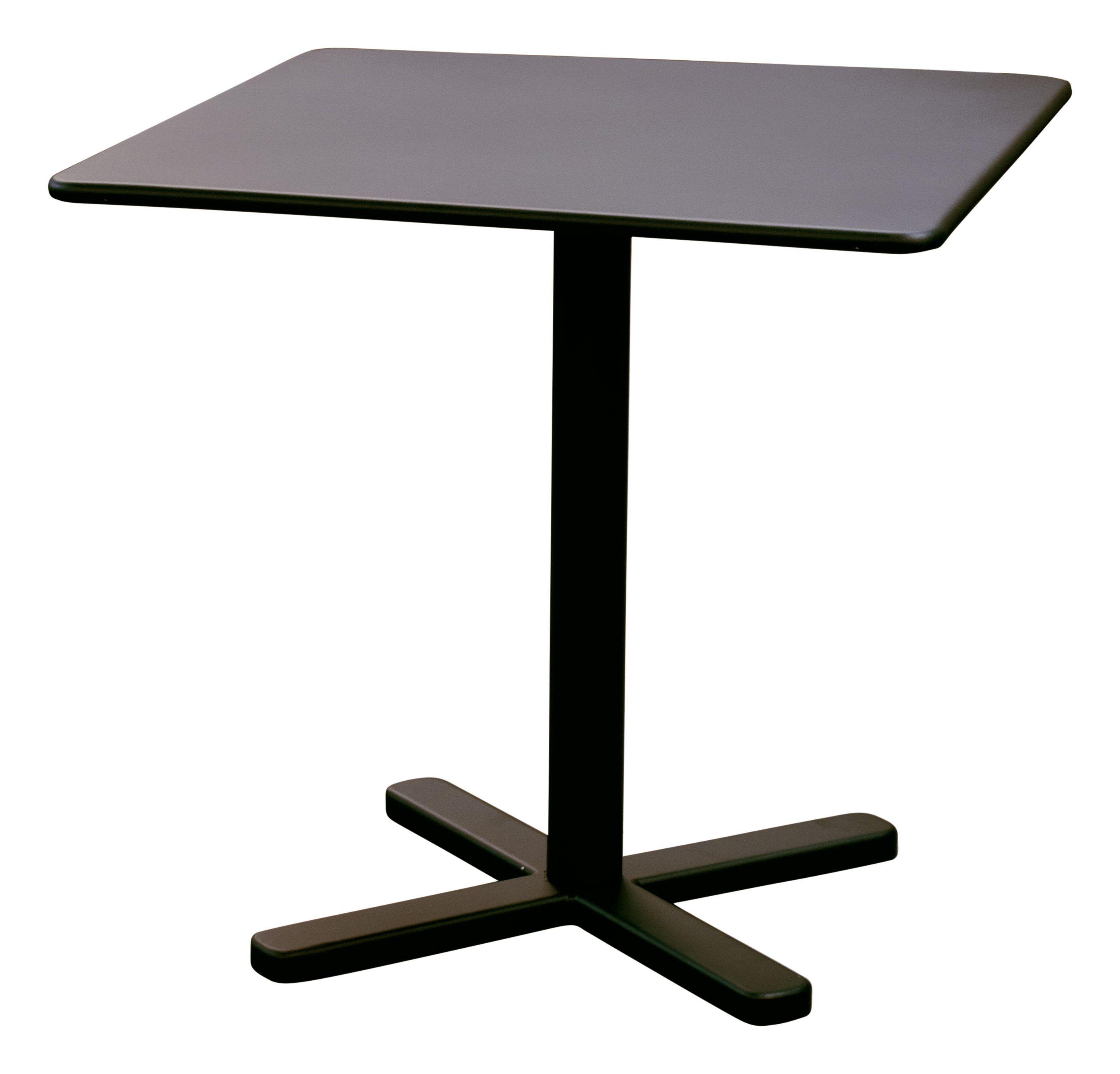 quadratischer tisch aus stahl kollektion darwin by emu group design lucidipevere. Black Bedroom Furniture Sets. Home Design Ideas