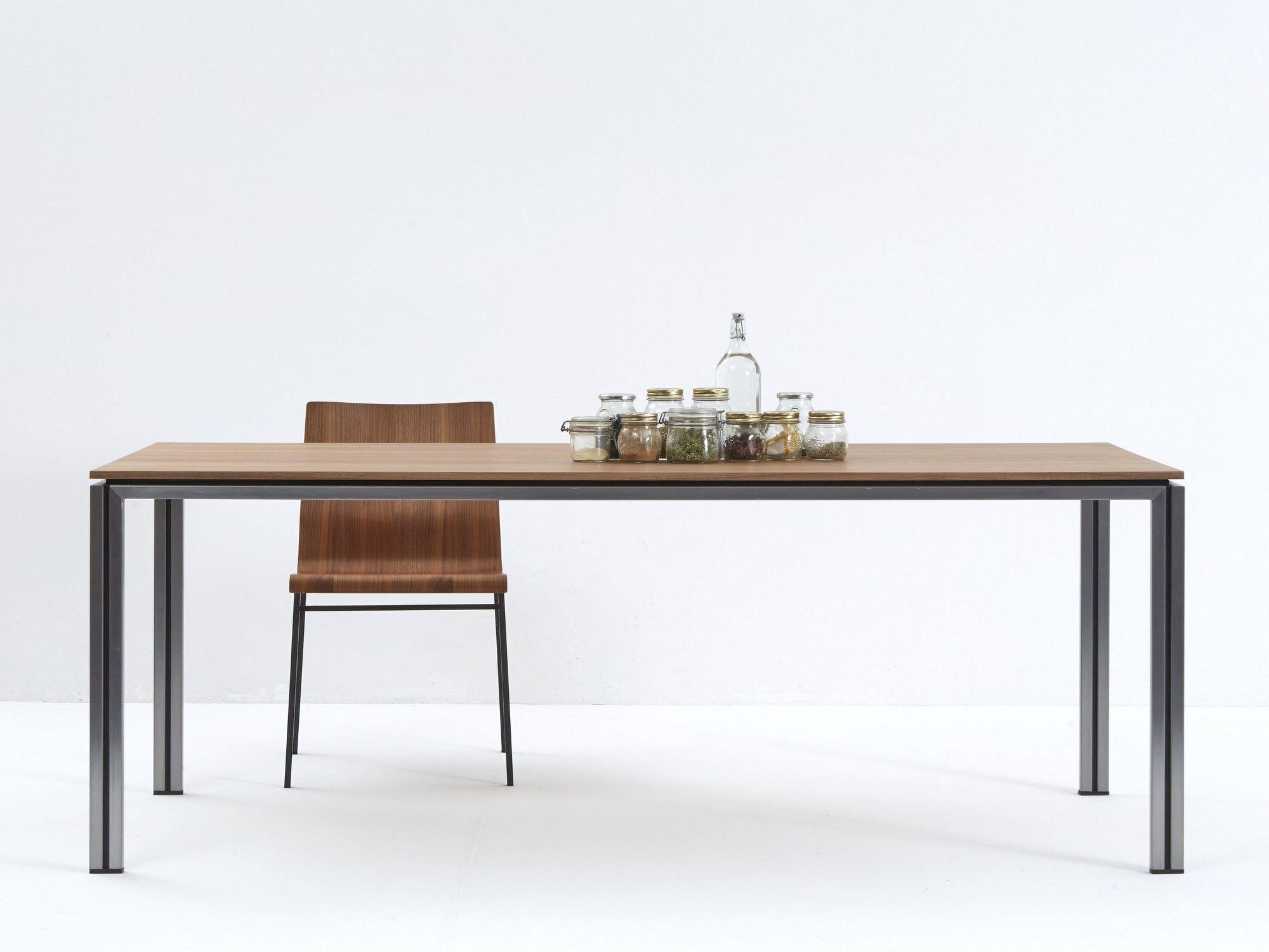Rechteckiger esstisch zoe wood by icarraro italian makers for Esstisch italian design