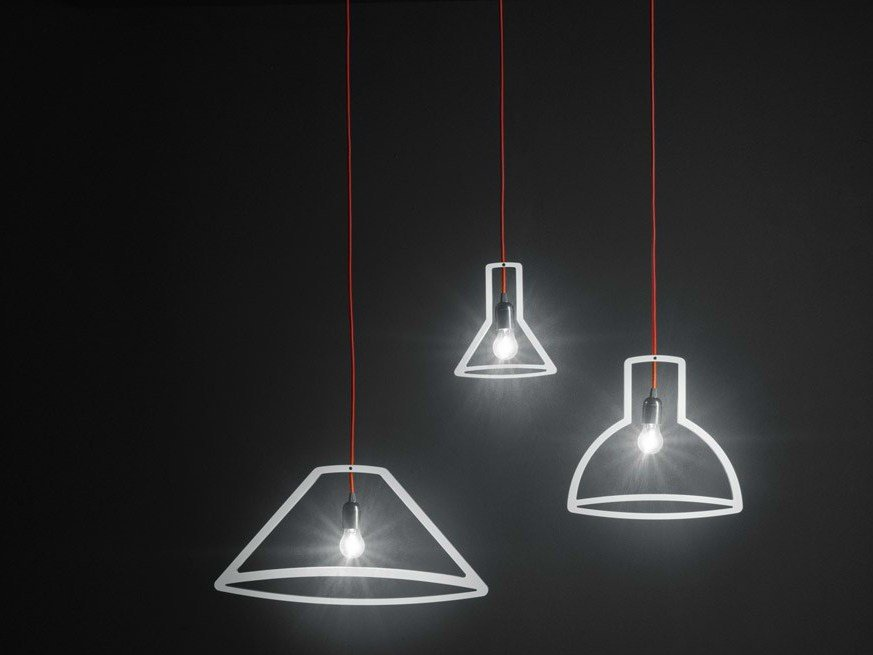 DIRECT LIGHT PENDANT LAMP OUTLINER LAMPS COLLECTION BY