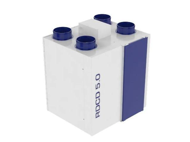 Unit di ventilazione a recupero di calore rdcd 5 0 by - Ventilazione recupero calore ...