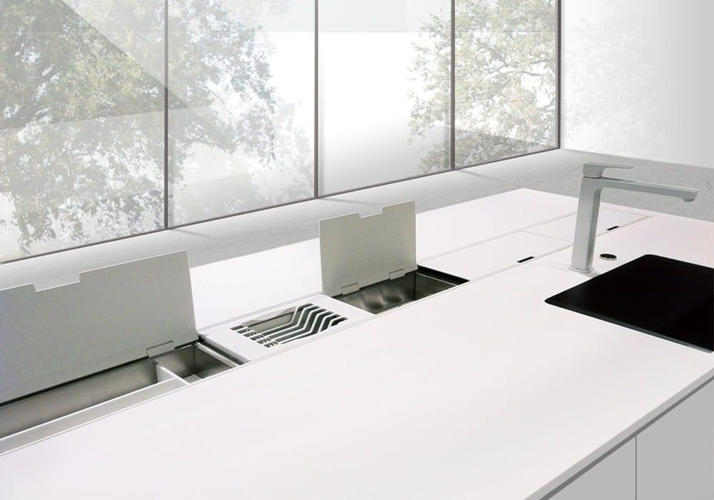 Canale attrezzato per cucina easyrack kitchen flat - Furgone attrezzato con cucina ...
