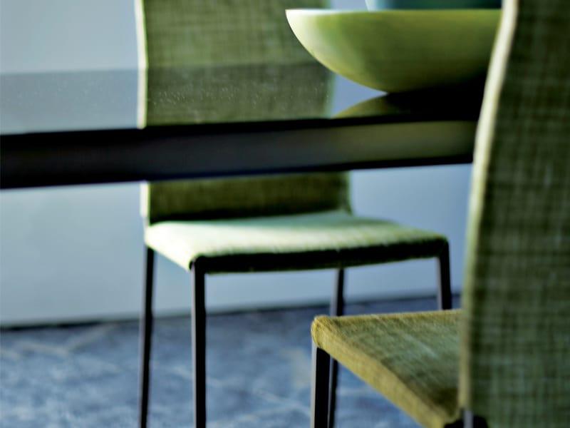 Sedia con schienale alto lialta by zanotta design roberto for Sedia design schienale alto