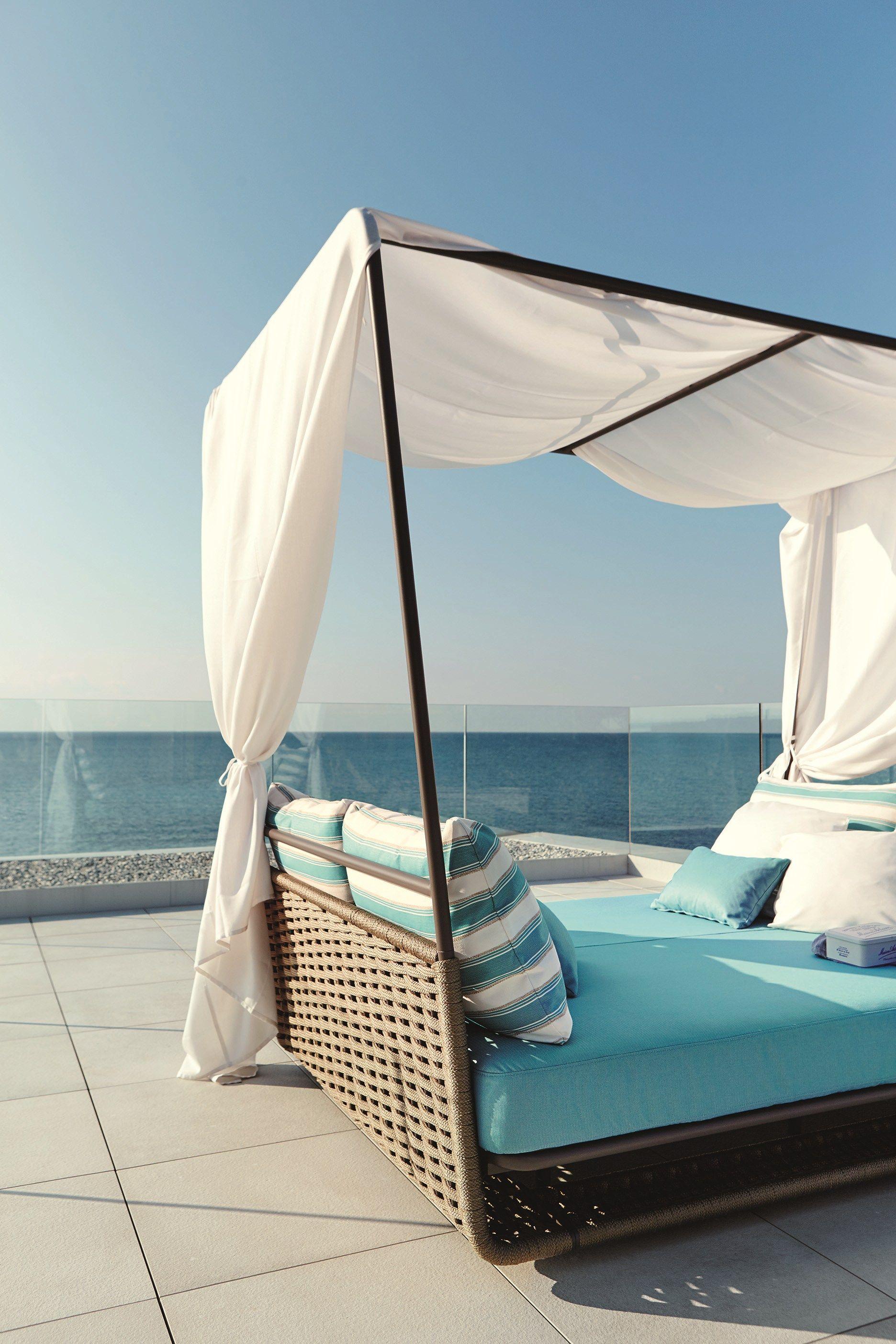 Portofino letto da giardino by roberti rattan design - Letto da giardino ...