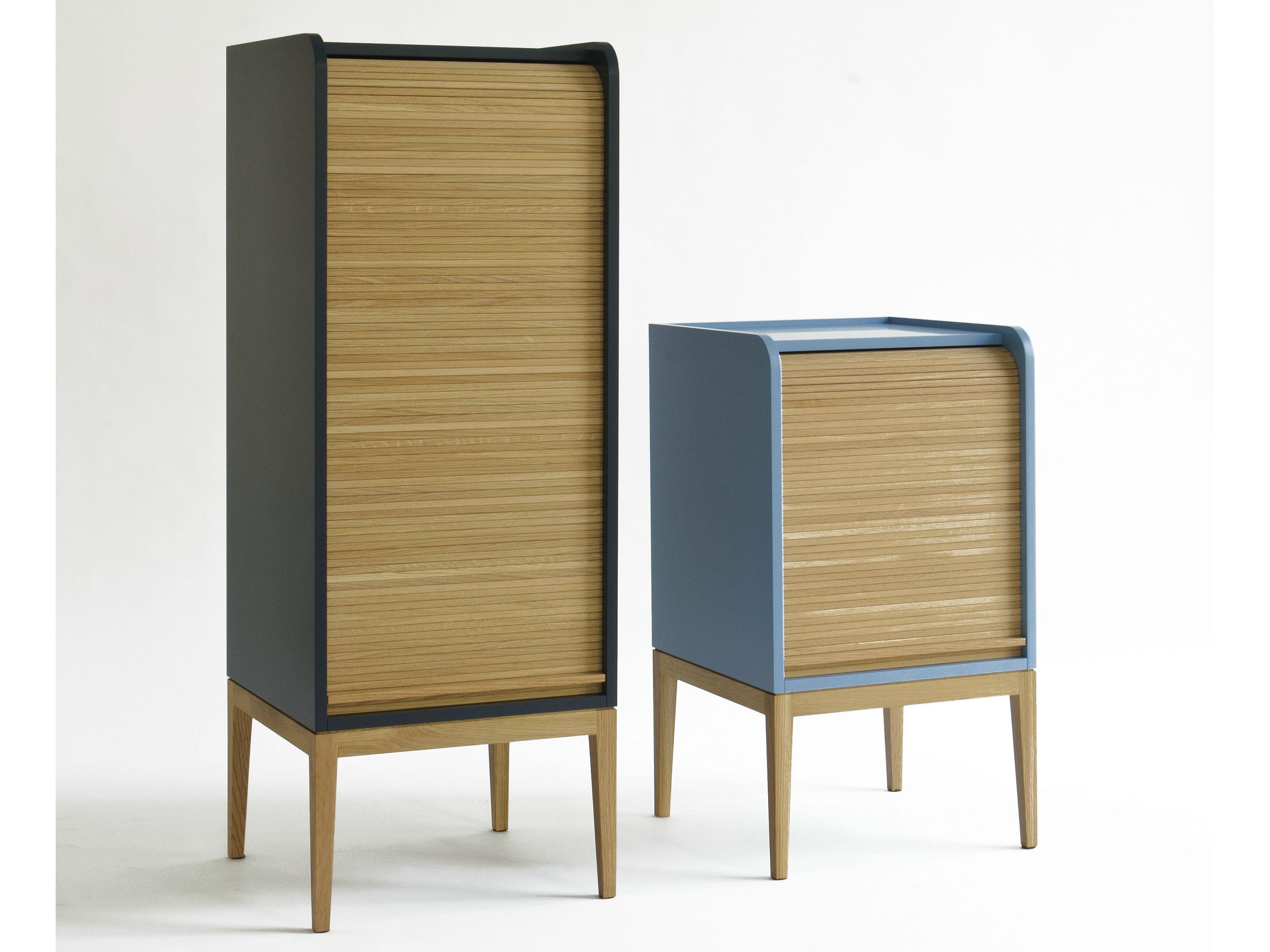 Tapparelle mobile contenitore by col italian design label - Serrandine per mobili ...