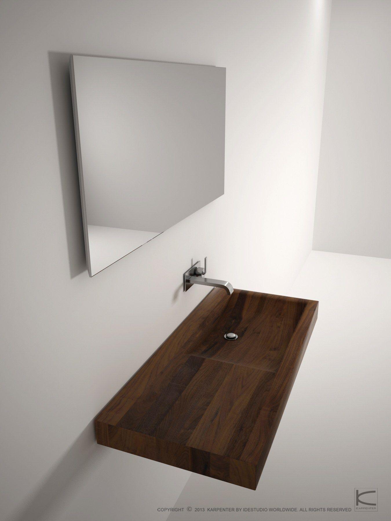 Lena specchio per bagno by karpenter design hugues revuelta for Specchio design bagno