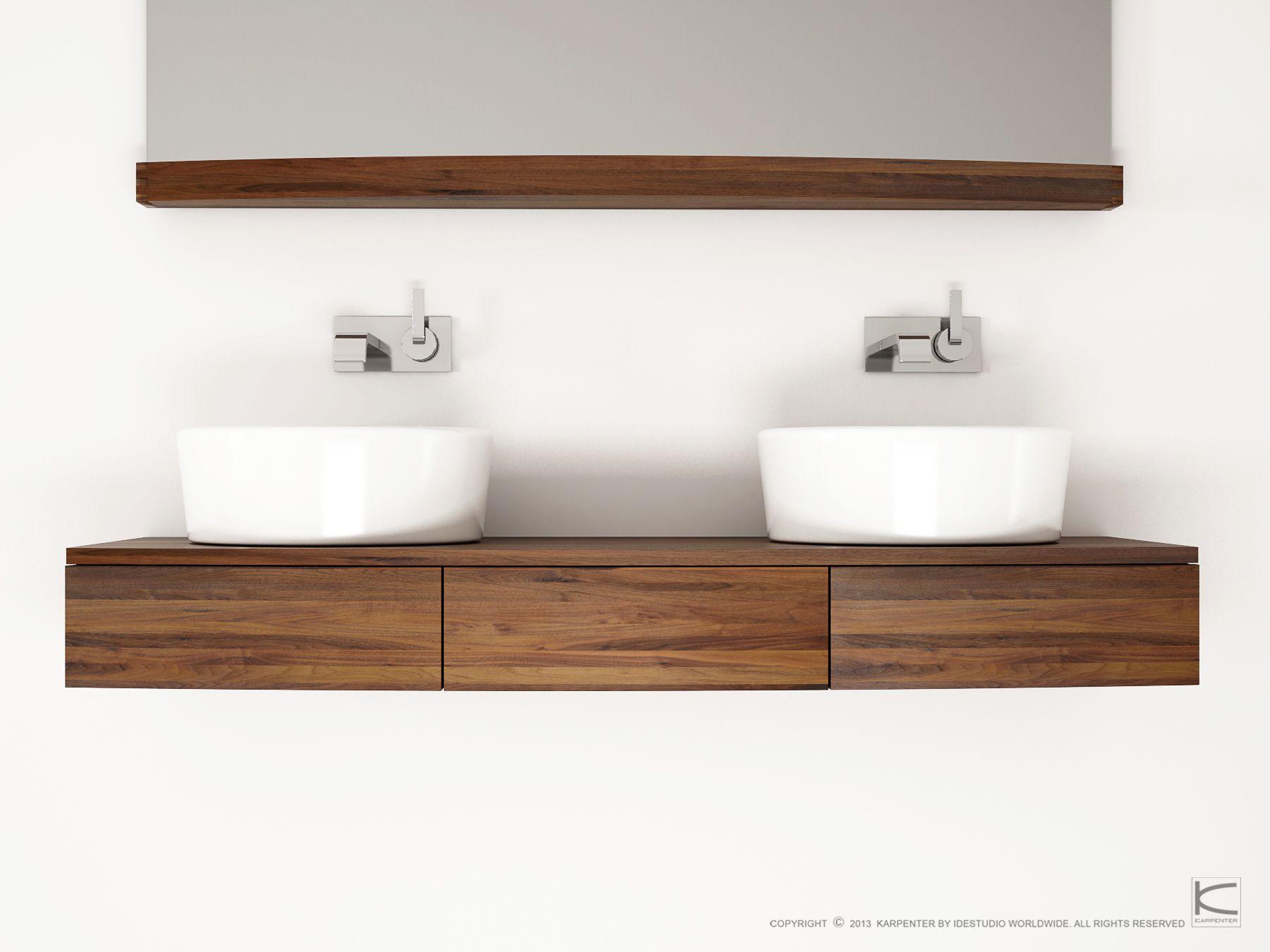 Miles doppel waschtischunterschrank by karpenter - Doppel waschtischunterschrank ...