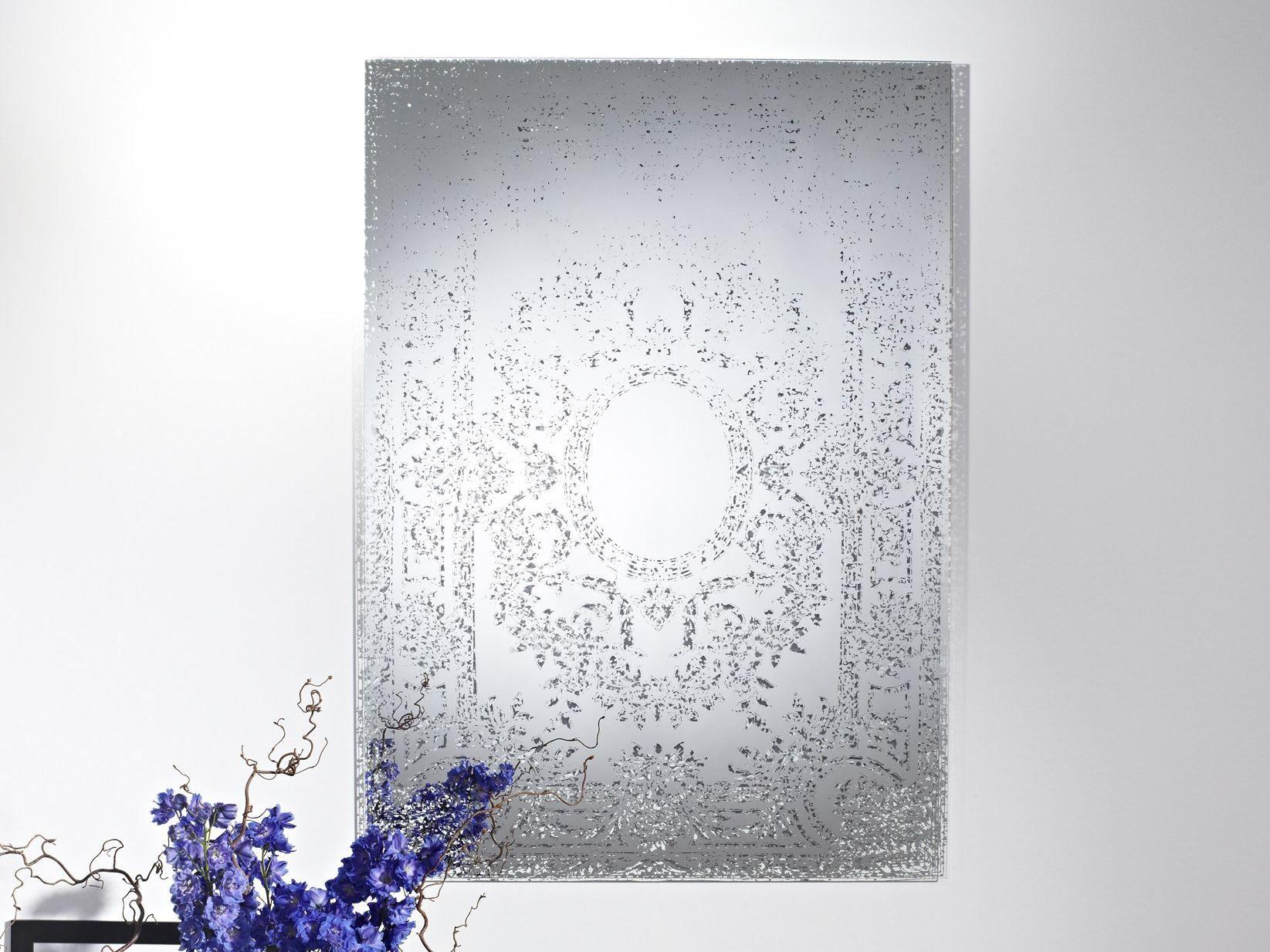 miroir mural de style classique oxide by deknudt mirrors. Black Bedroom Furniture Sets. Home Design Ideas