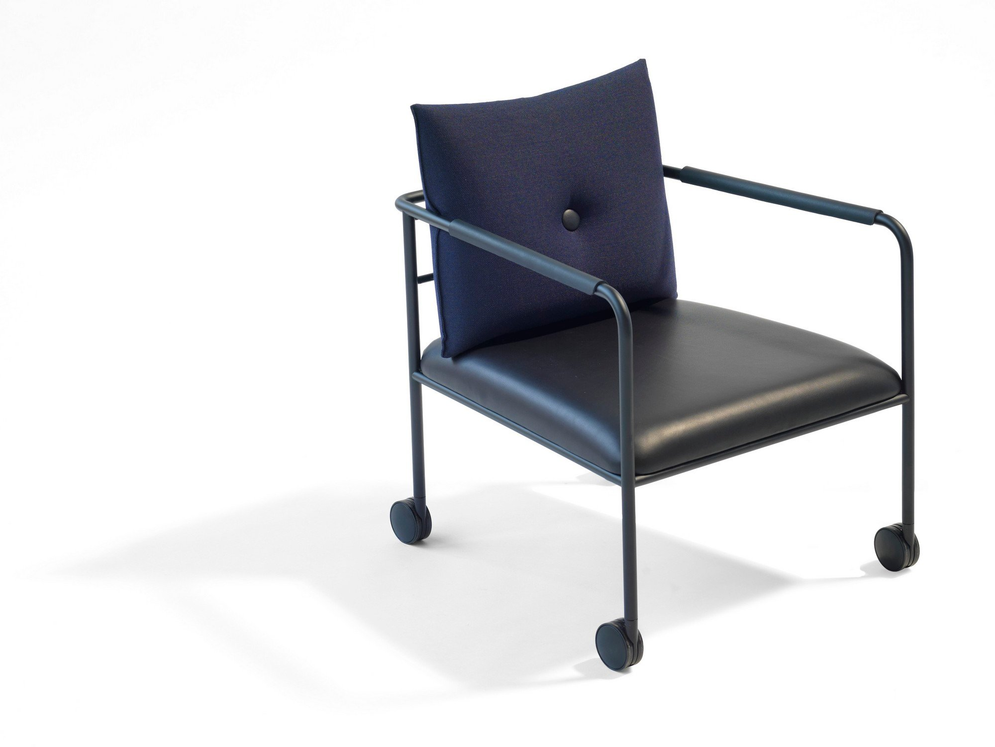Armchair With Casters: MORRIS JR Armchair With Casters By Blå Station Design