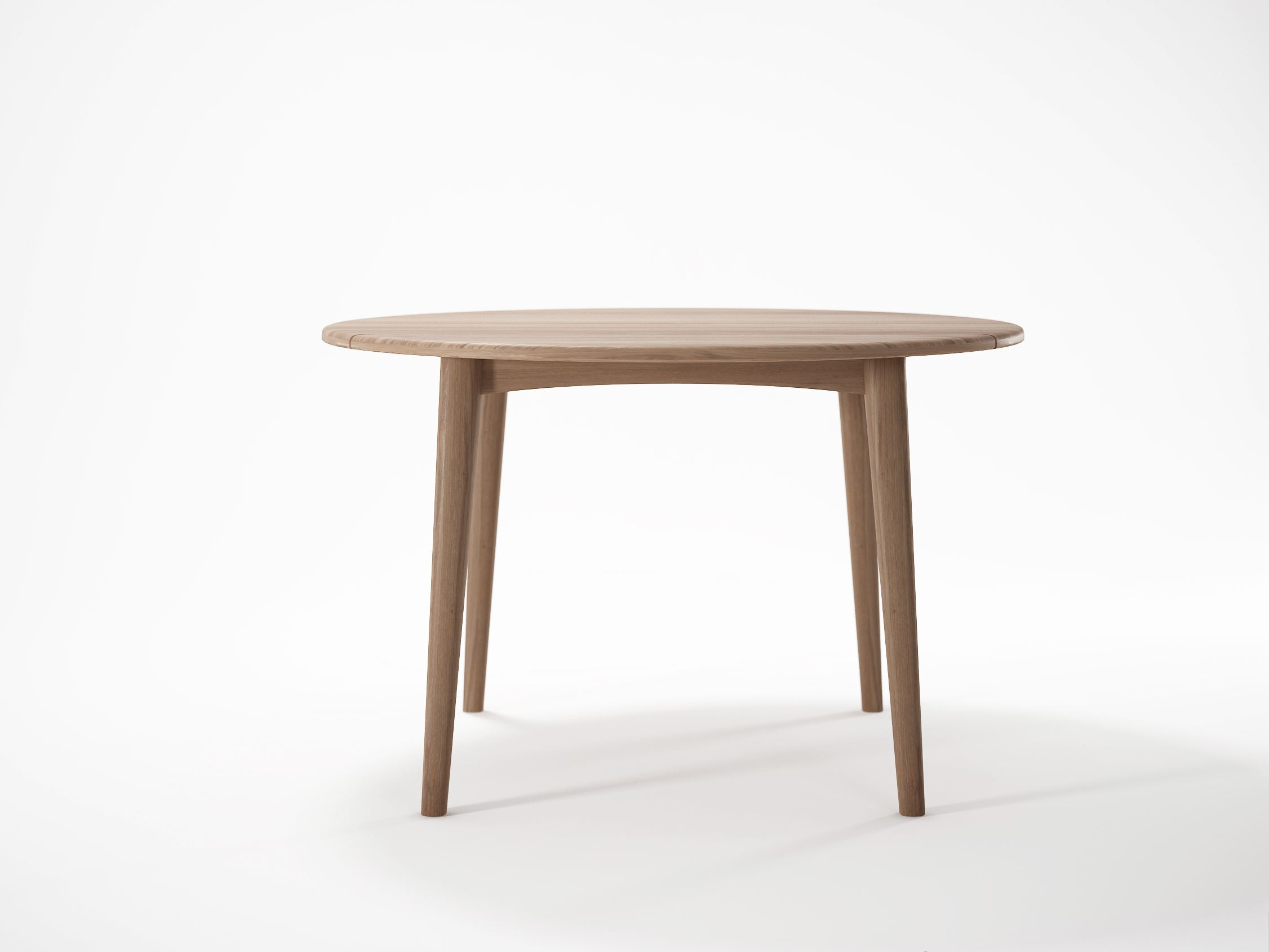 GRASSHOPPER Tavolo rotondo by KARPENTER design Hugues Revuelta