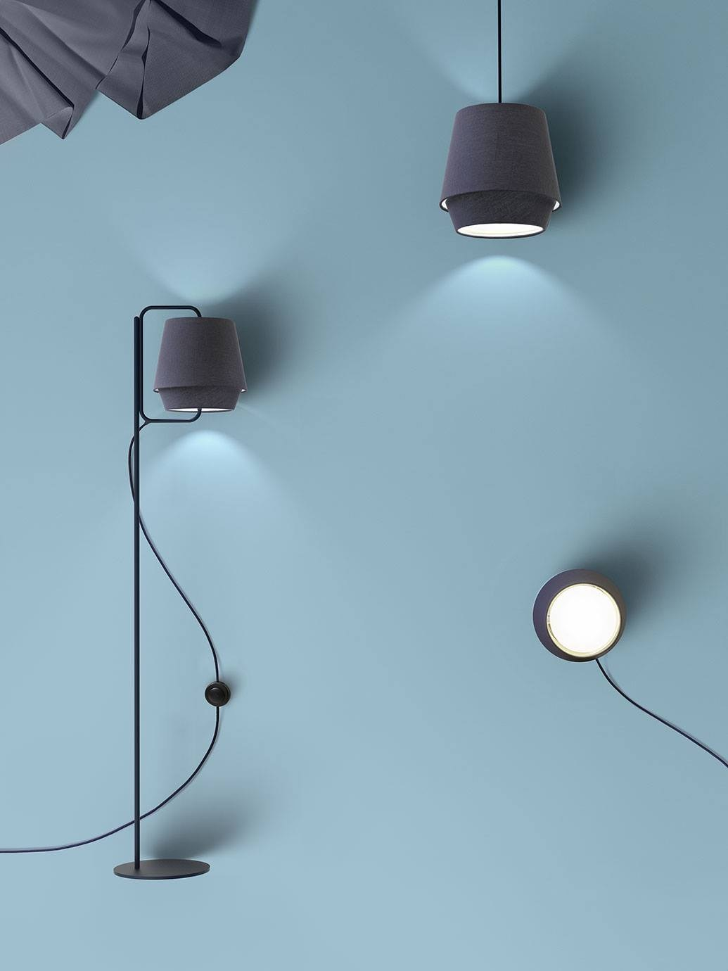 Elements wall light by zero design note design studio