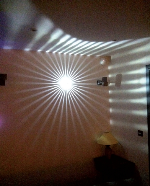 LED wall light FAN by TEKNI-LED