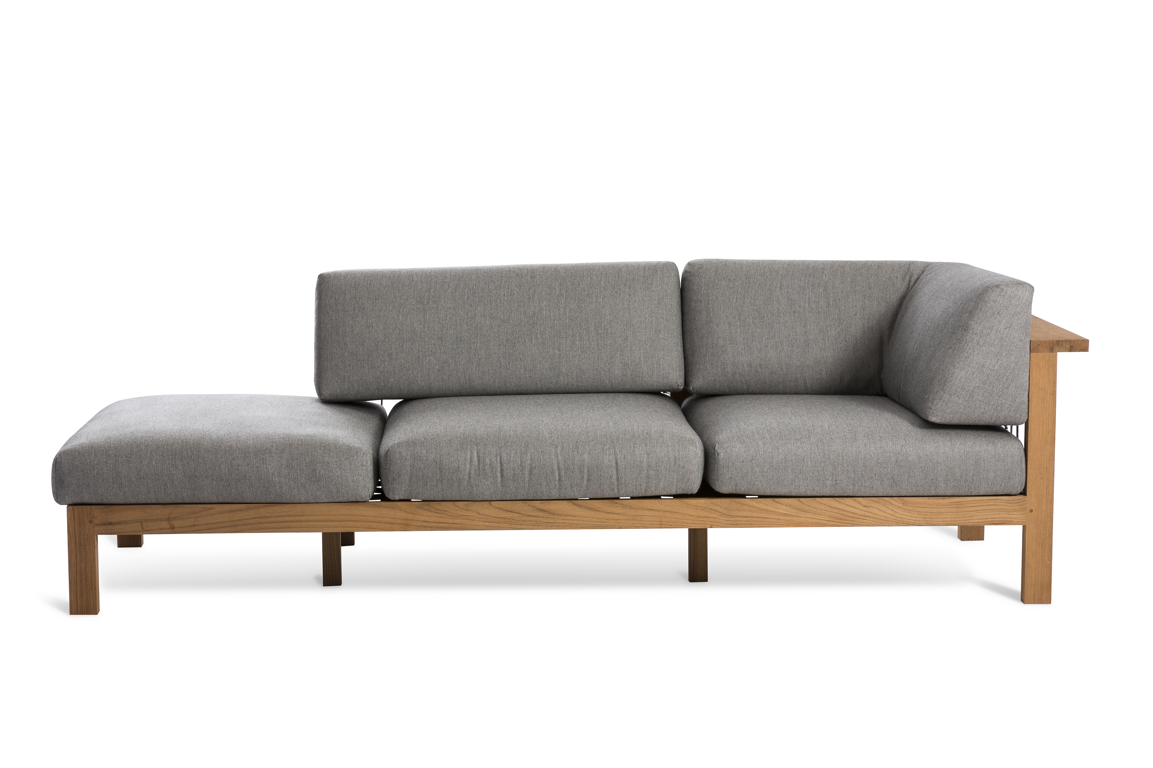 Maro sofa with chaise longue by oasiq design gijs papavoine for Sofa 1 plaza chaise longue