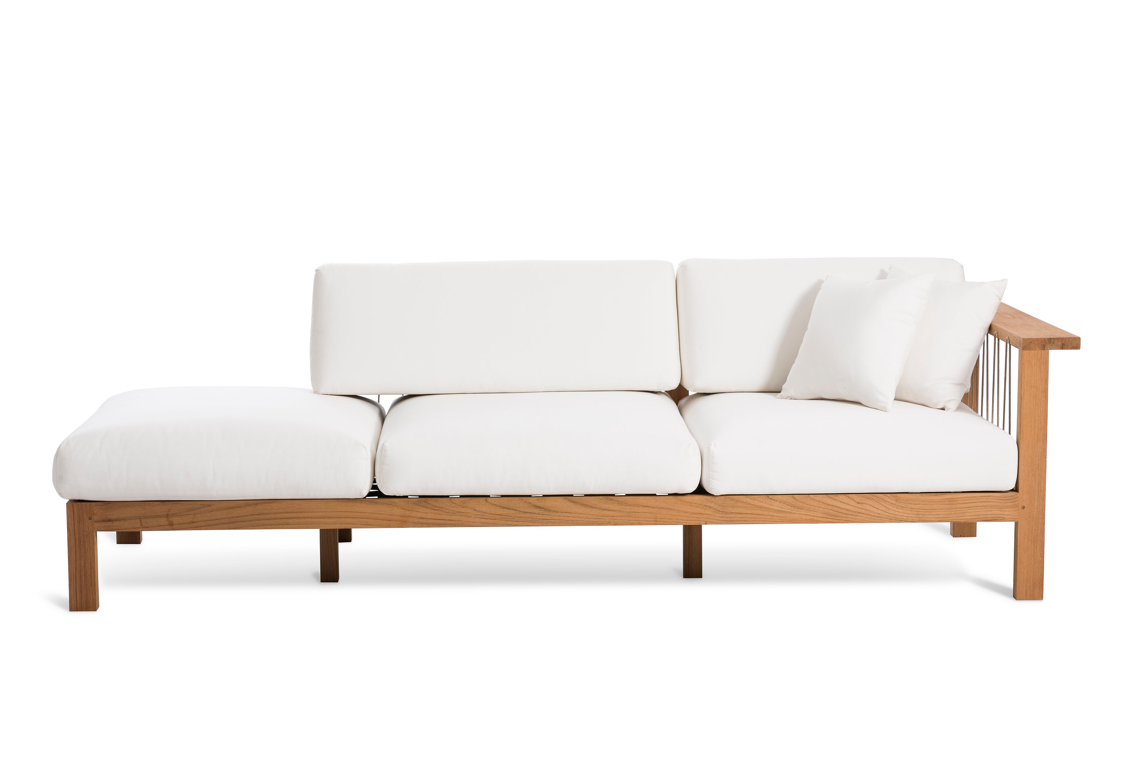 Maro sofa with chaise longue by oasiq design gijs papavoine for Chaise longue manufacturers