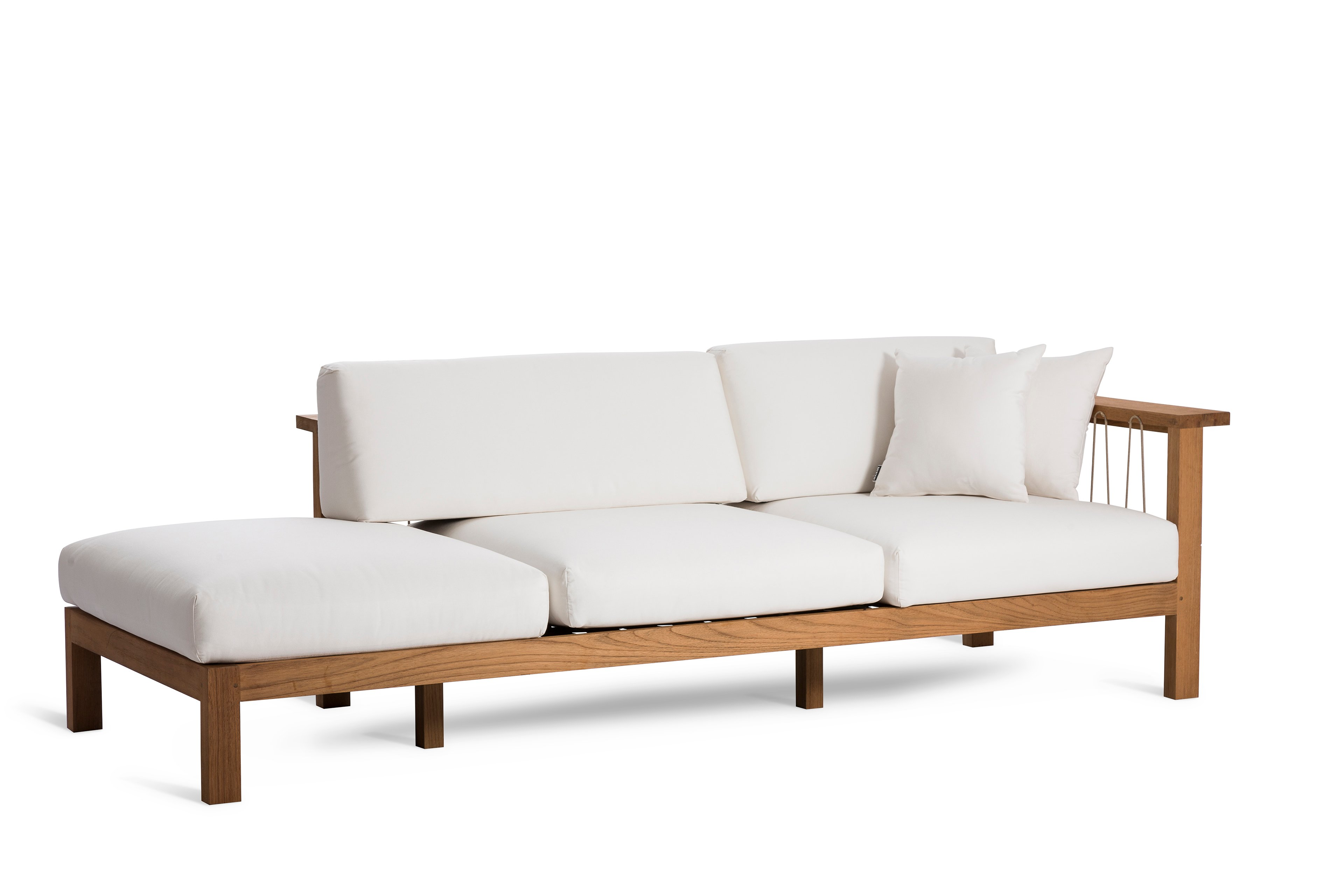 Maro sofa with chaise longue by oasiq design gijs papavoine for Chaise longue designer