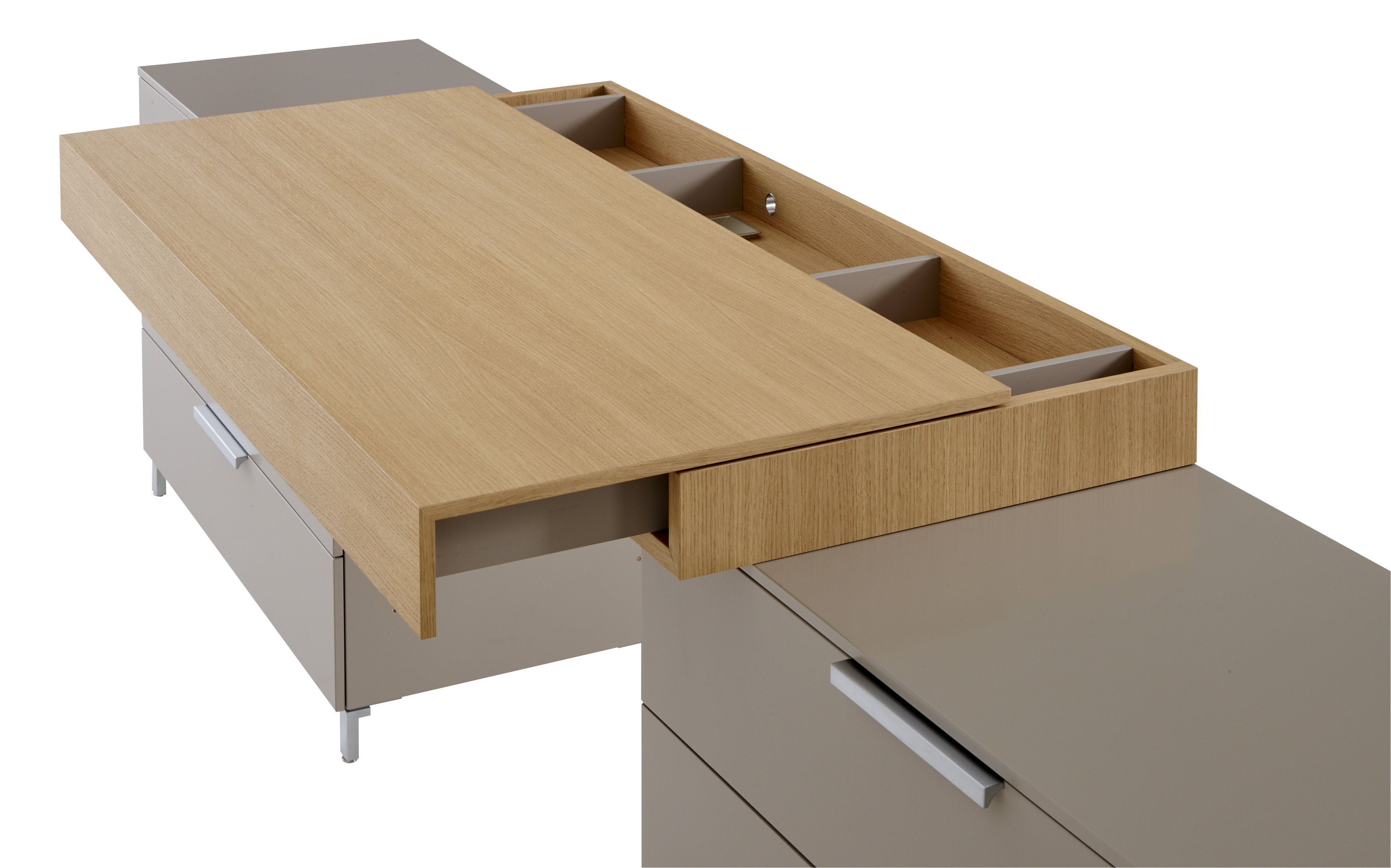 everywhere secretary desk by roset italia design christian werner. Black Bedroom Furniture Sets. Home Design Ideas