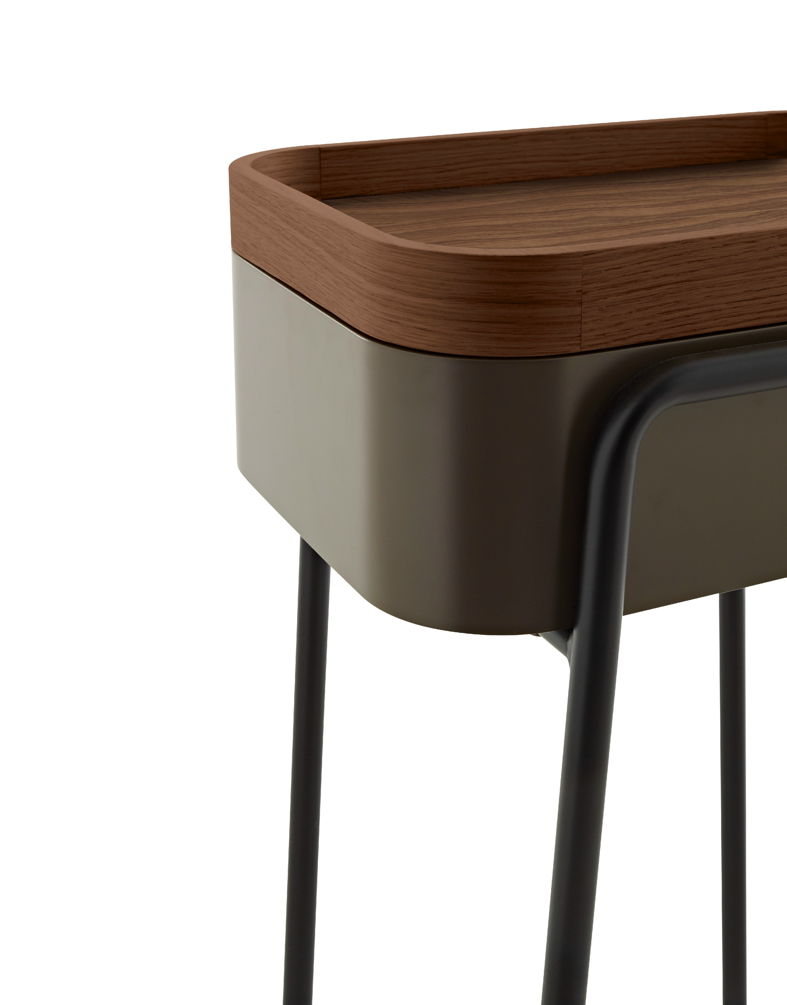 wooden coffee table bedside table couliss by ligne roset. Black Bedroom Furniture Sets. Home Design Ideas
