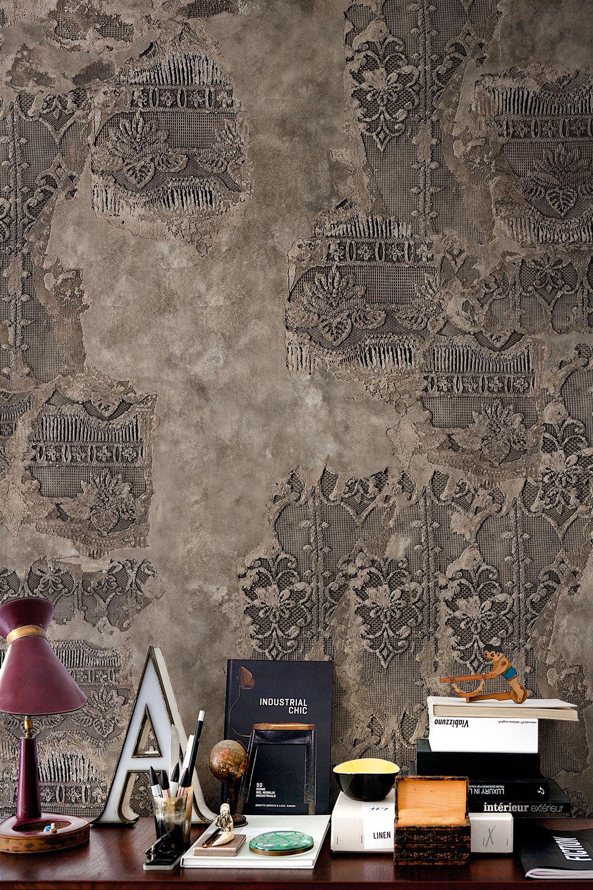 wall effect wallpaper sangallo by wall dec design. Black Bedroom Furniture Sets. Home Design Ideas