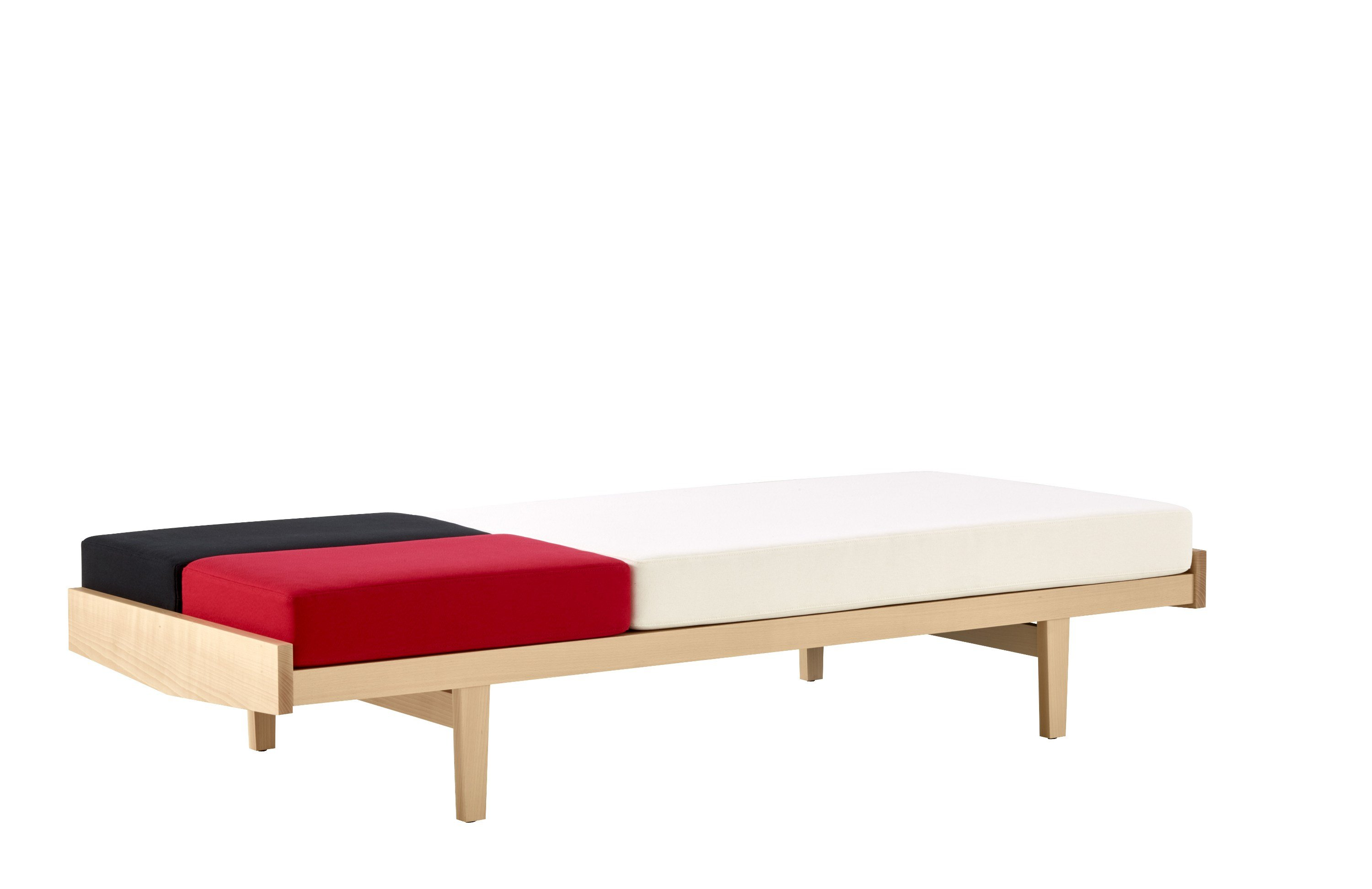 canap lit en ch ne daybed by roset italia design pierre paulin. Black Bedroom Furniture Sets. Home Design Ideas