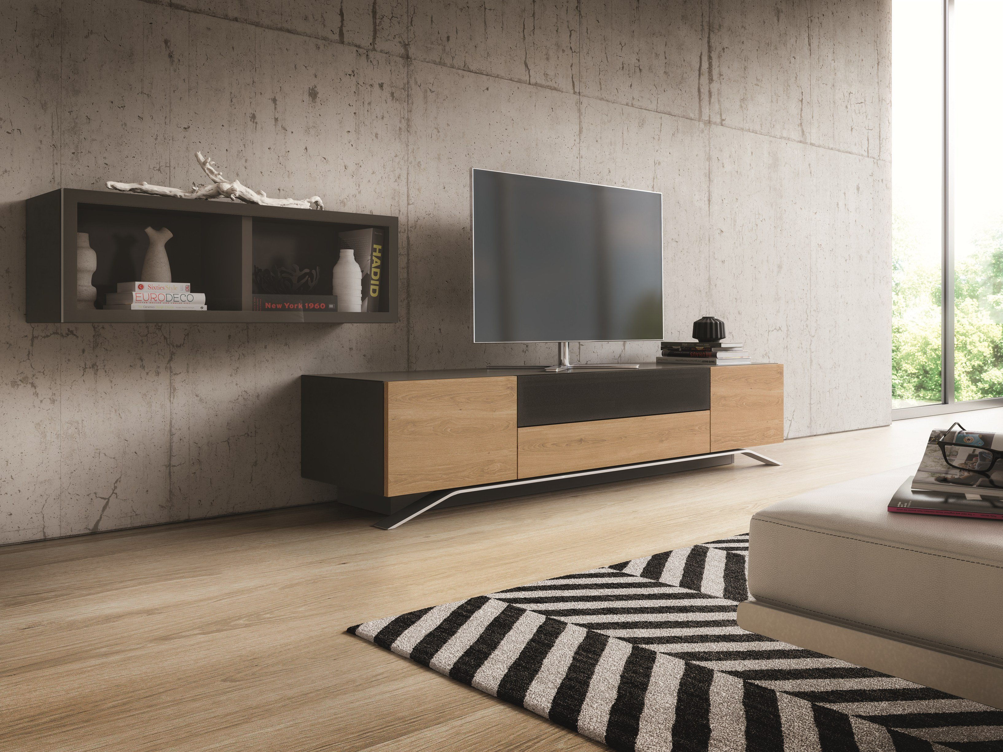 nexo meuble tv by h lsta werke h ls. Black Bedroom Furniture Sets. Home Design Ideas
