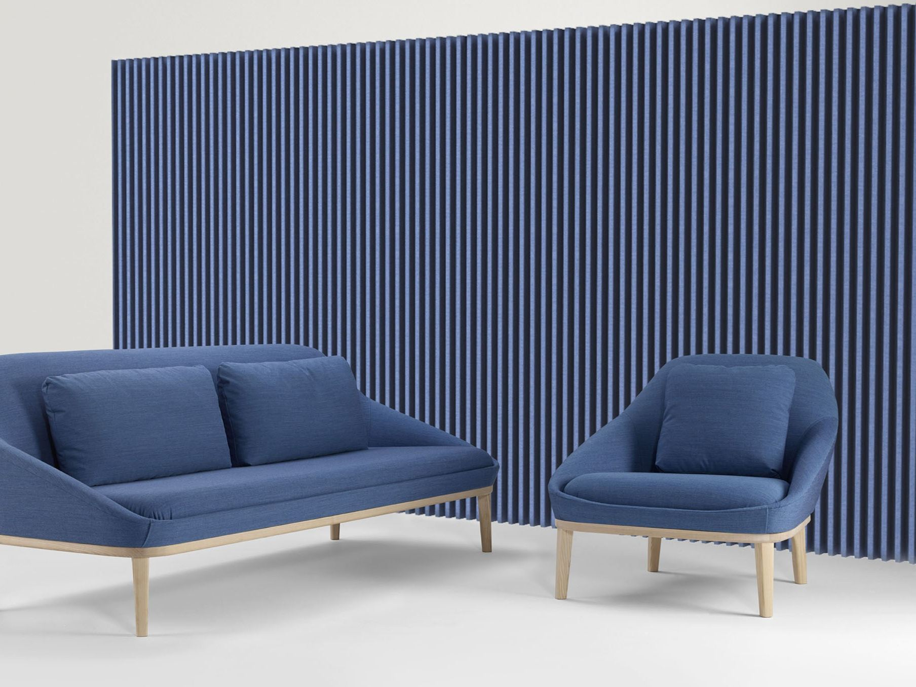 Decorative acoustical panels soundwave wall by offecct design christophe pillet - Decorative acoustic wall panels ...