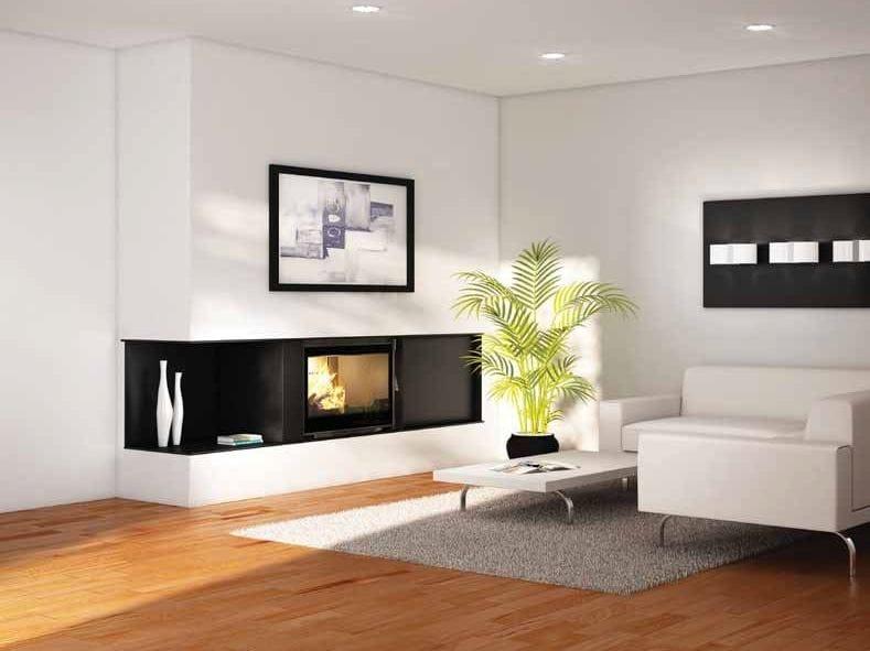 chemin e bois encastr e calisto by cheminees seguin duteriez. Black Bedroom Furniture Sets. Home Design Ideas