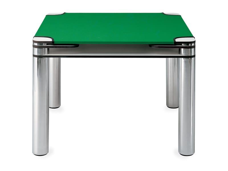table jeux carr e poker by zanotta design joe colombo. Black Bedroom Furniture Sets. Home Design Ideas