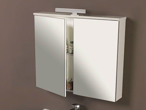 Mobile lavabo con cassetti con specchio HD.13 by Mobiltesino