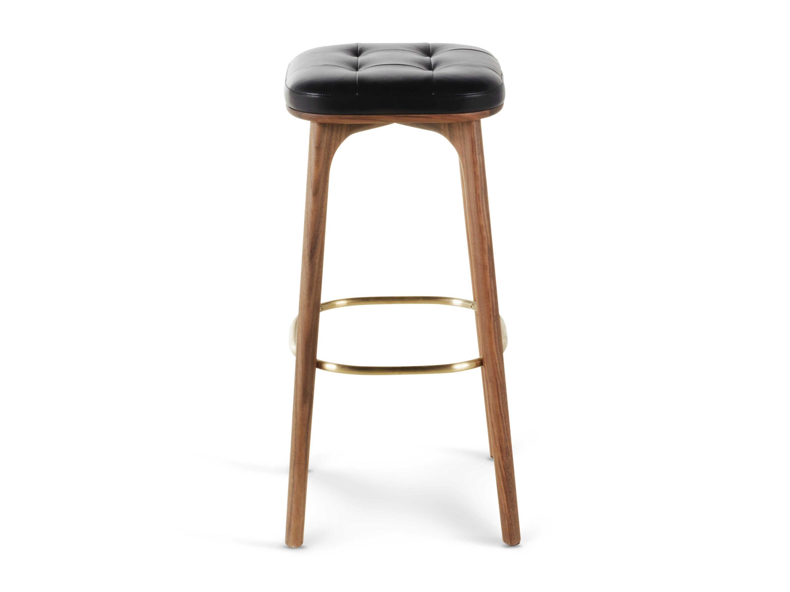 #714B34 High Wooden Barstool With Footrest UTILITY STOOL H760 STELLAR WORKS with 3266x2449 px of Brand New High Wooden Stool 24493266 pic @ avoidforclosure.info