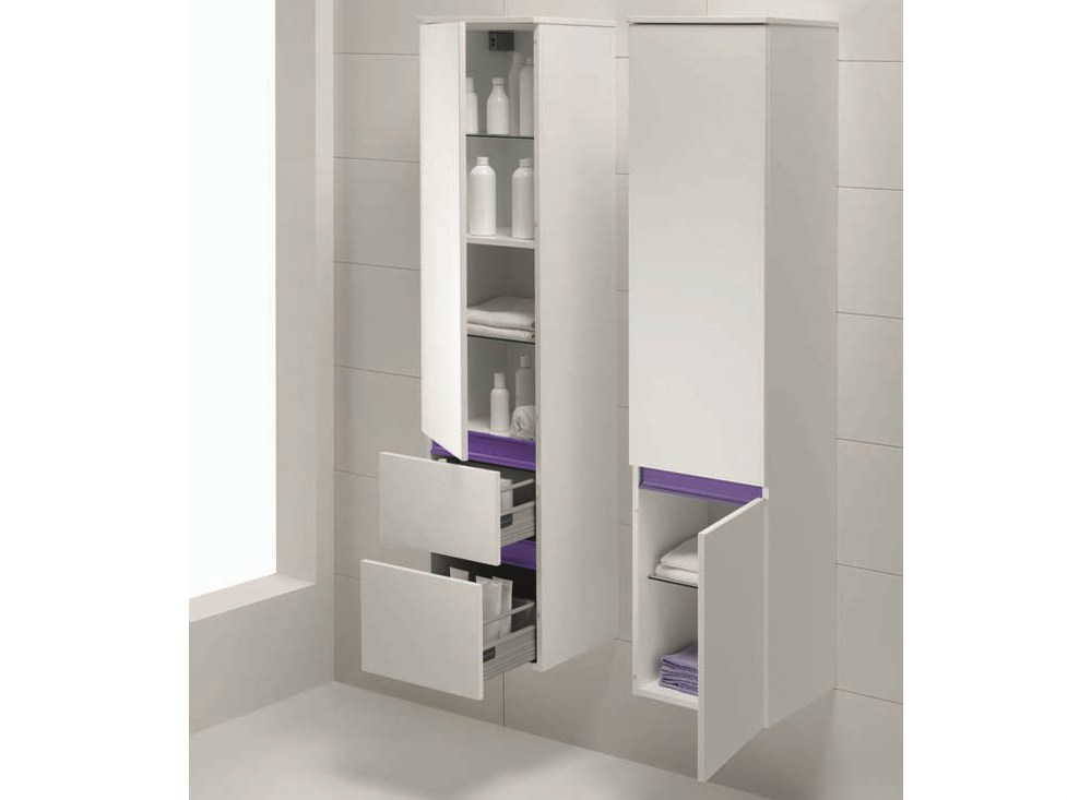 Qu13 mobile bagno a colonna by mobiltesino for Mobile bagno colonna
