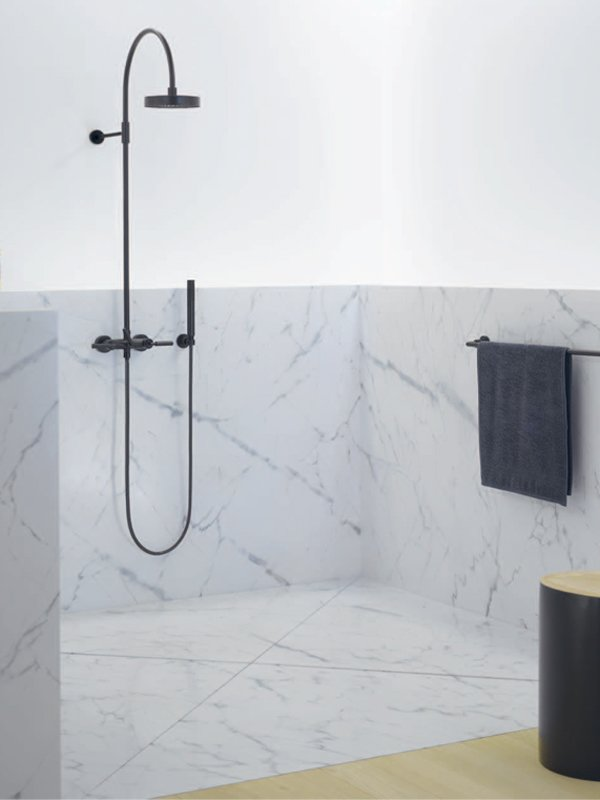 shower column tara collection by dornbracht design sieger design. Black Bedroom Furniture Sets. Home Design Ideas